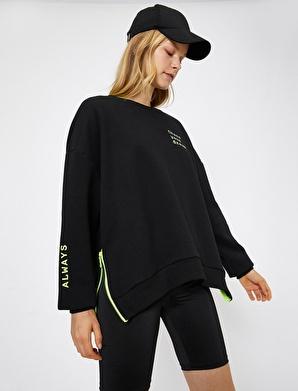 Koton Fermuar Detaylı Sweatshirt